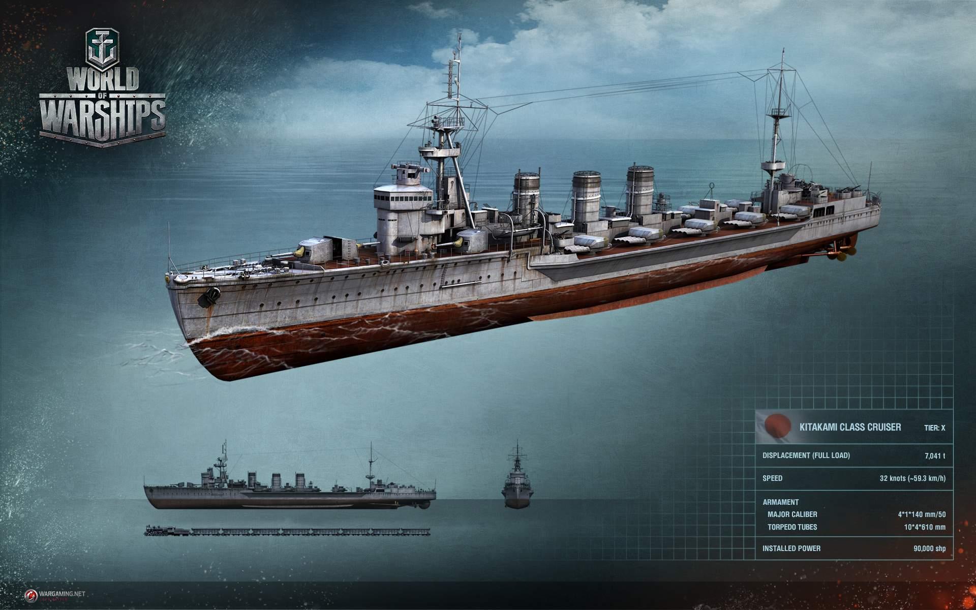 World of Warships: Kitakami – dieses Schiff ist zu gefährlich für WoWs