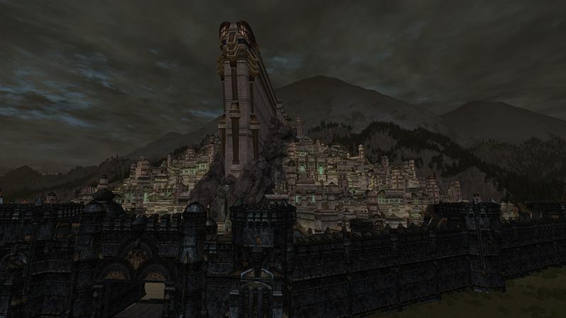 Herr der Ringe Online bezahlt Euch dafür vorbeizuschauen – und Minas Tirith kommt