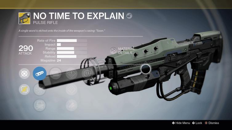 Destiny: Keine Zeit für Erklärungen – so bekommt Ihr das neue exotische Impulsgewehr