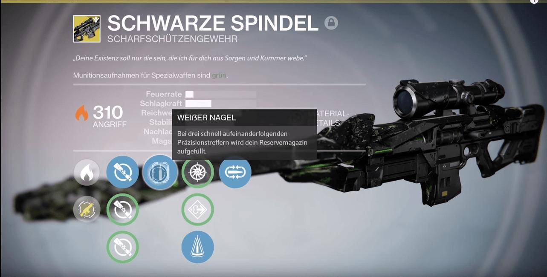 Destiny:  Schwarze Spindel – so bekommt man das exotische Scharfschützengewehr