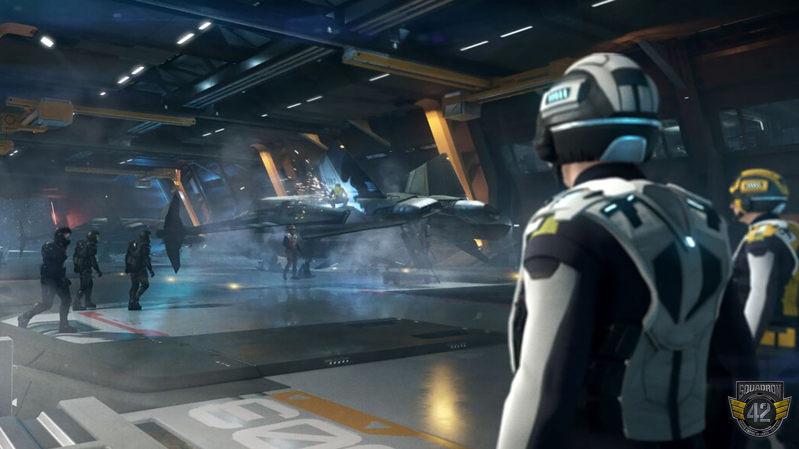"""Star Citizen: Was heißt """"Wann erscheint Squadron 42 auf Außerirdisch?"""""""