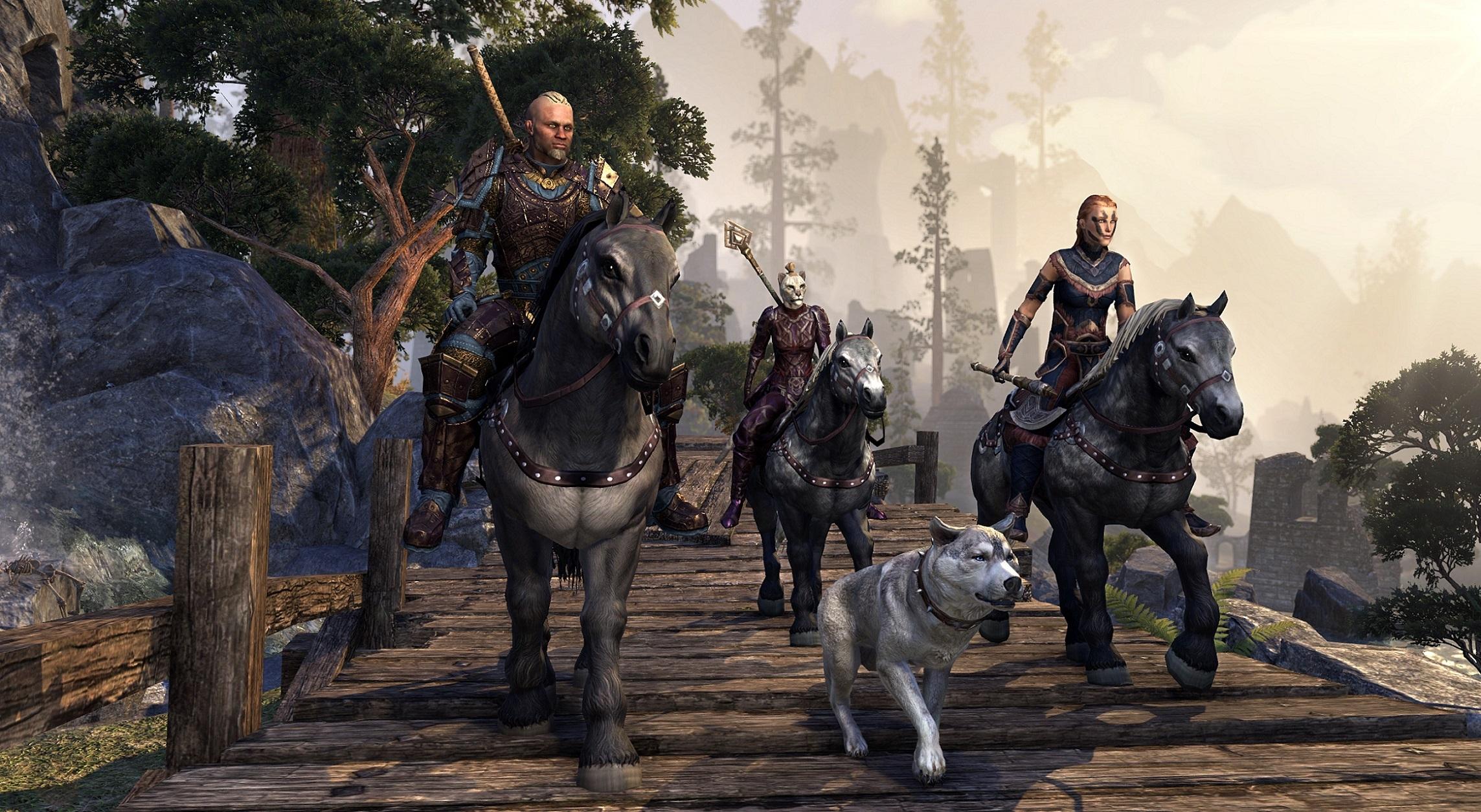The Elder Scrolls Online: Cap für Championpunkte, Aufhol-System und Controller-Support