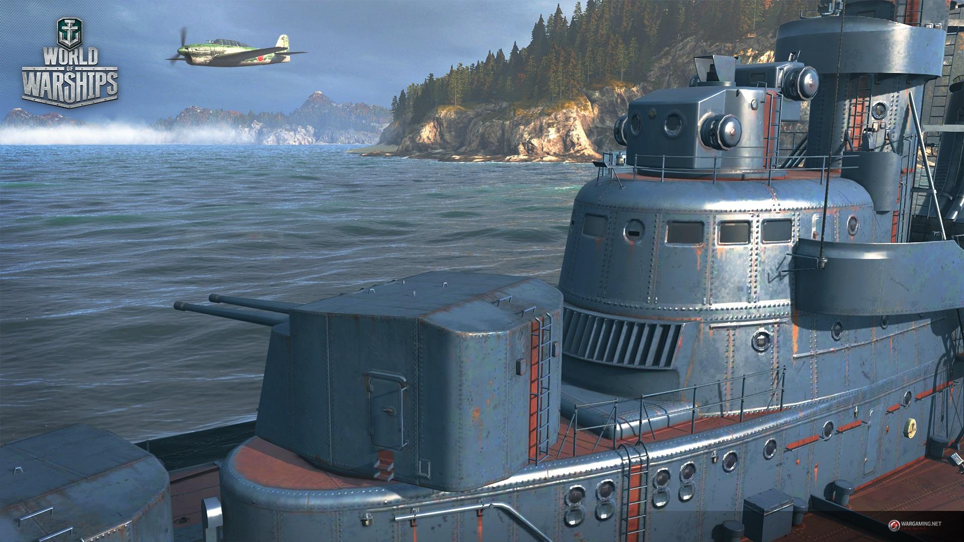 World of Warships: Schräger Werbespot – Statt dicken Rohren gibt's nun stramme Pilze
