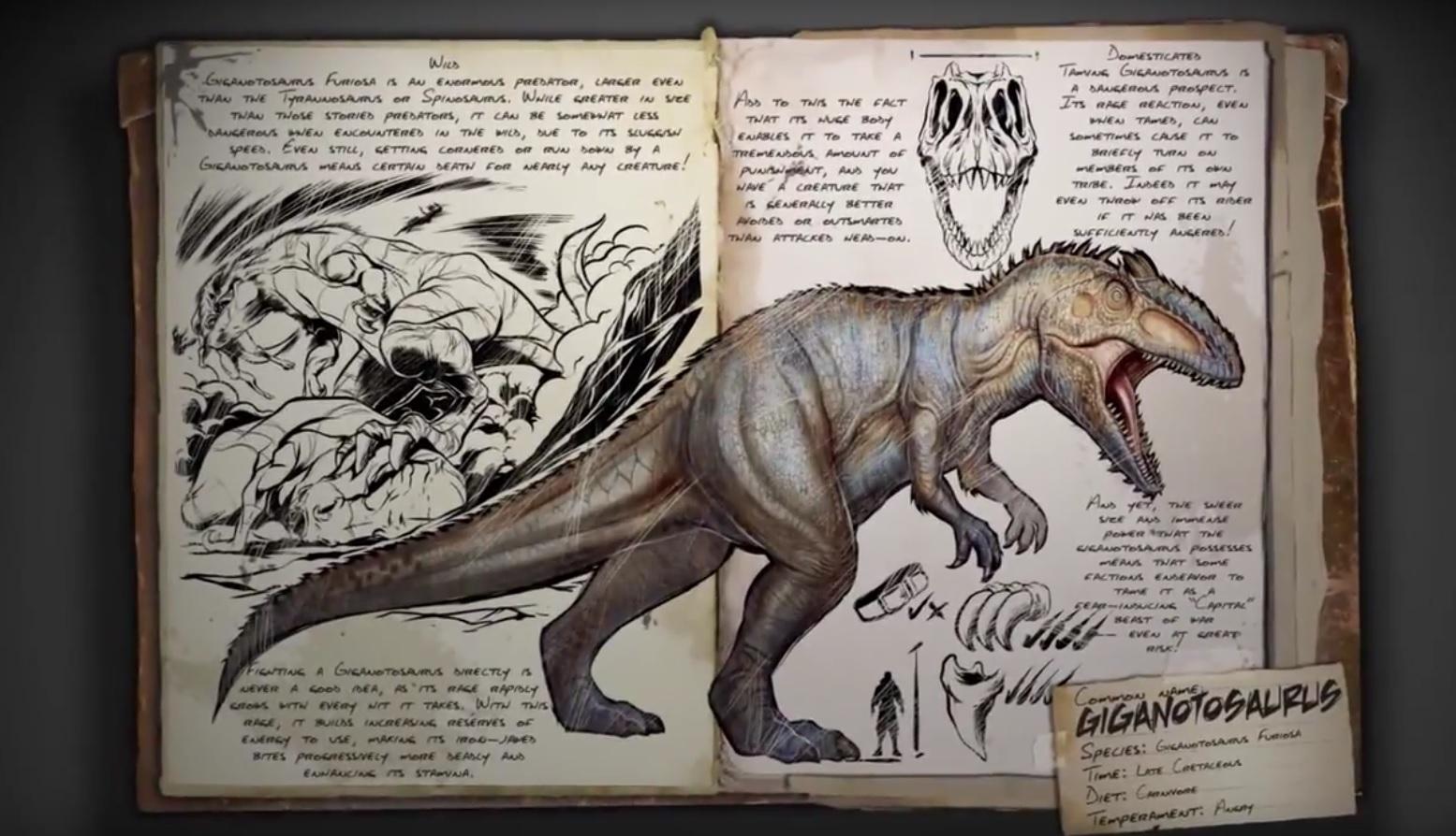 ARK: Neuer, tödlicher Saurier stellt T-Rex in den Schatten
