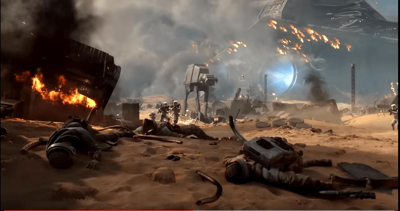 Star Wars Battlefront zeigt erstmals Schlacht von Jakku in neuem Trailer