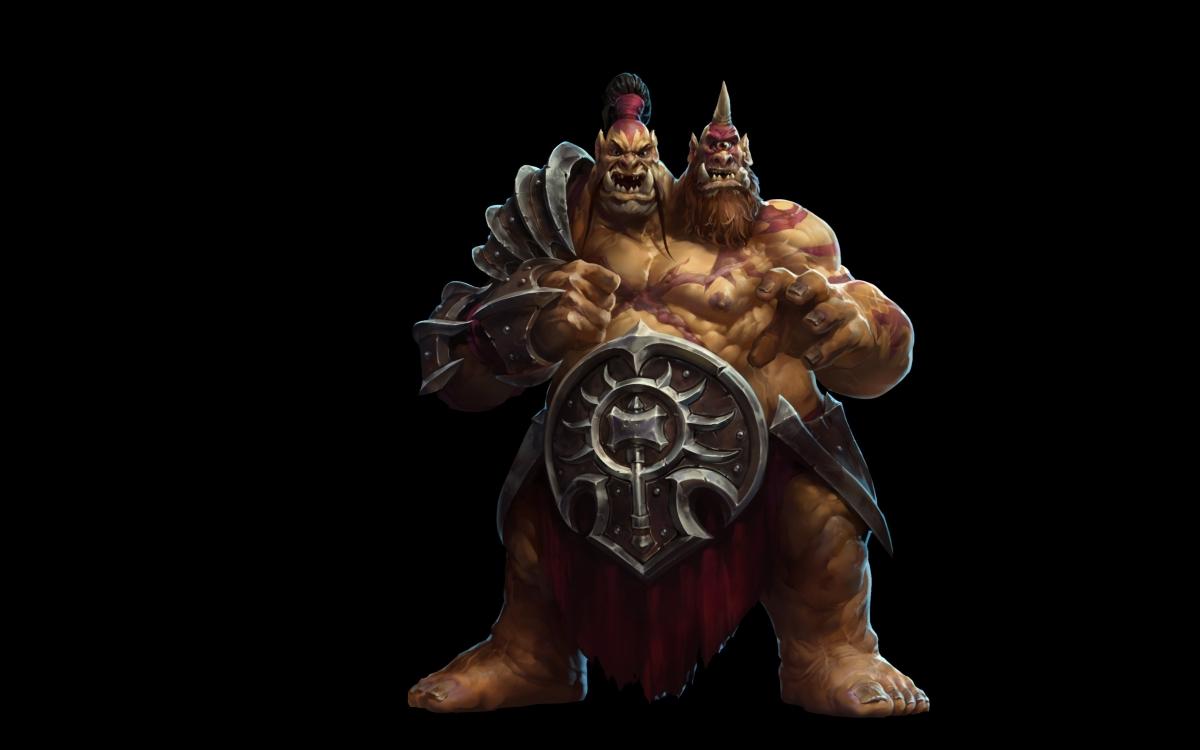 Heroes of the Storm: So spielt sich Cho'Gall, der Held für 2 Spieler!