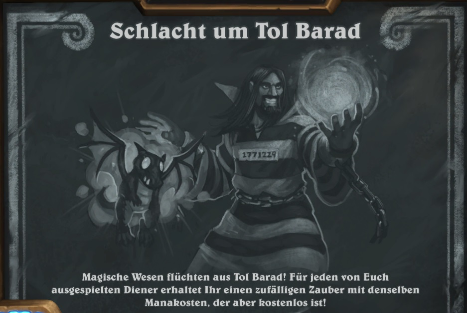 Hearthstone: Schlacht um Tol Barad macht eure Diener zu Zaubern!