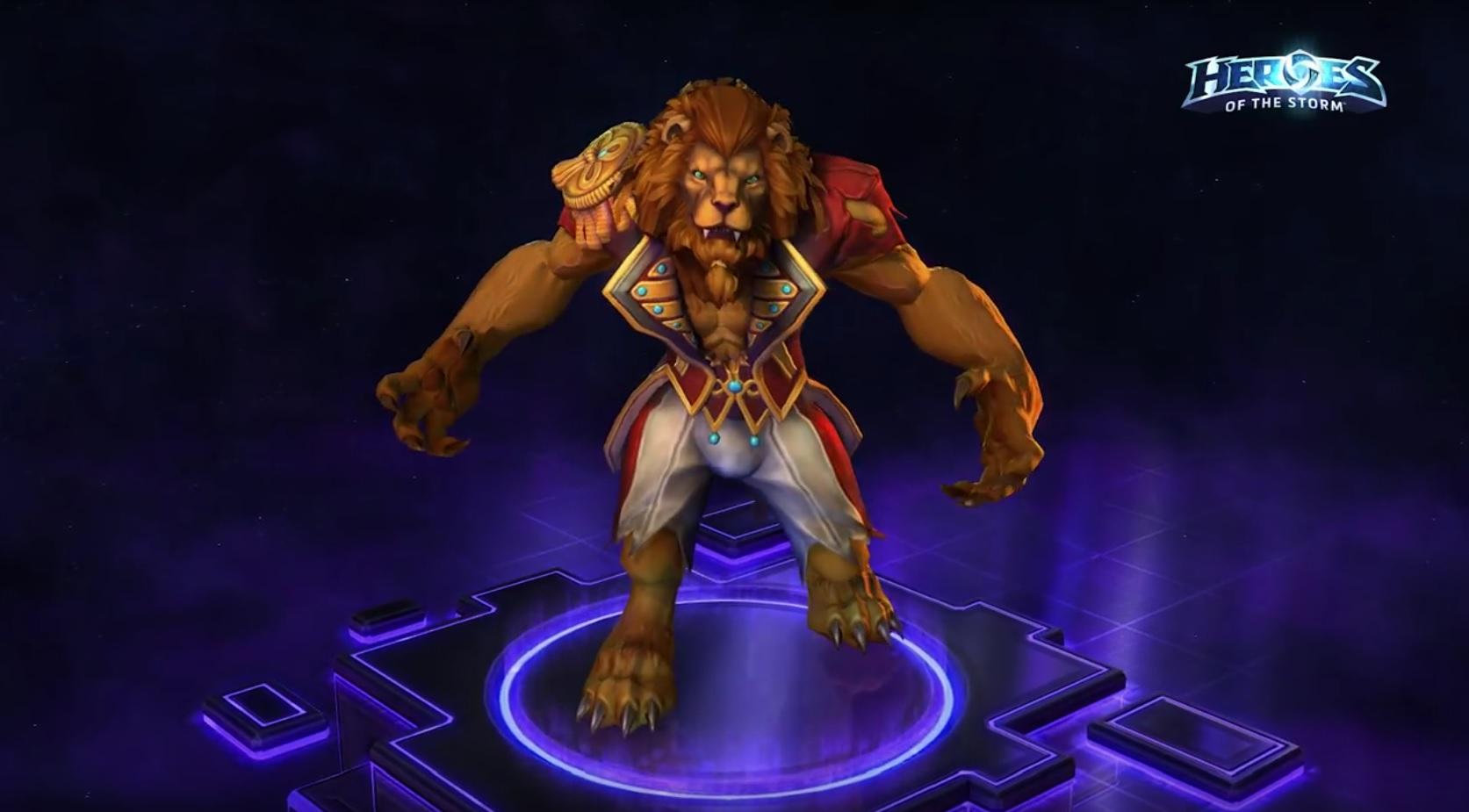 Heroes of the Storm: Skins und Mounts für Lunara, Greymane und Cho'Gall!