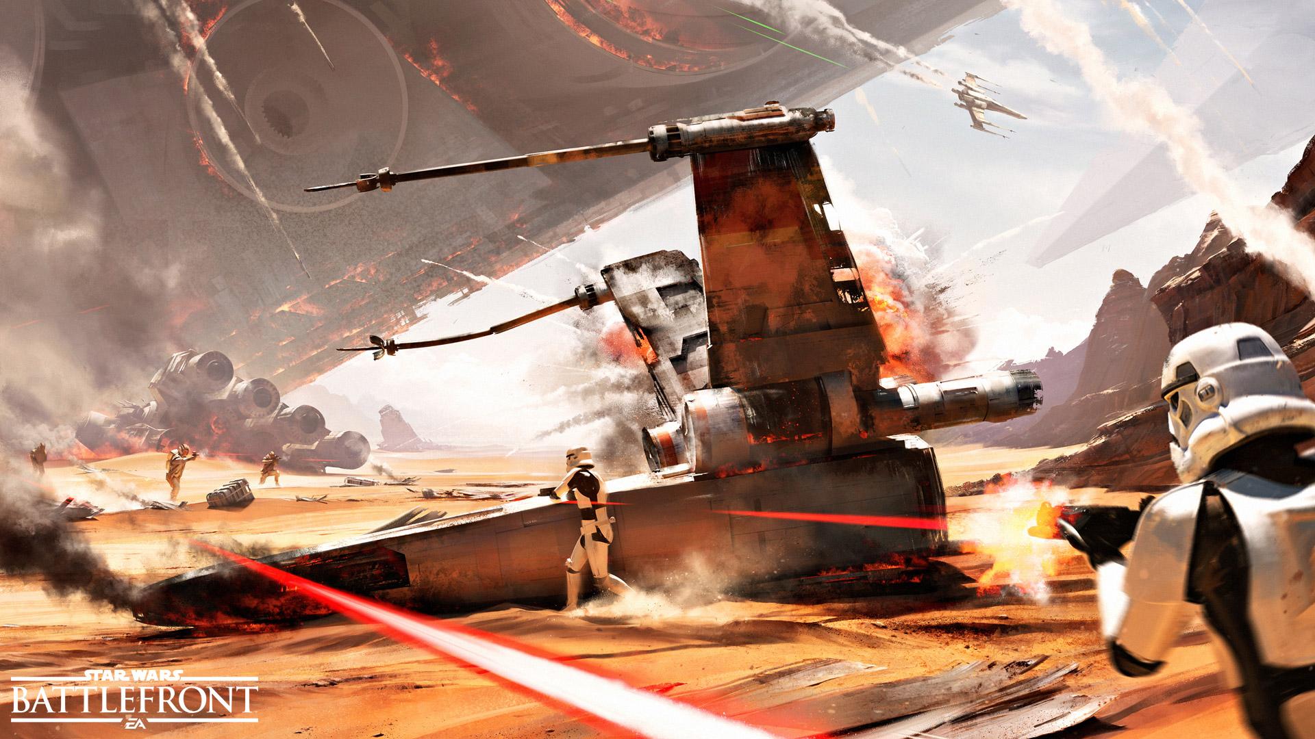 "Star Wars Battlefront kündigt neuen 40-Spieler-Modus ""Wendepunkt"" an"