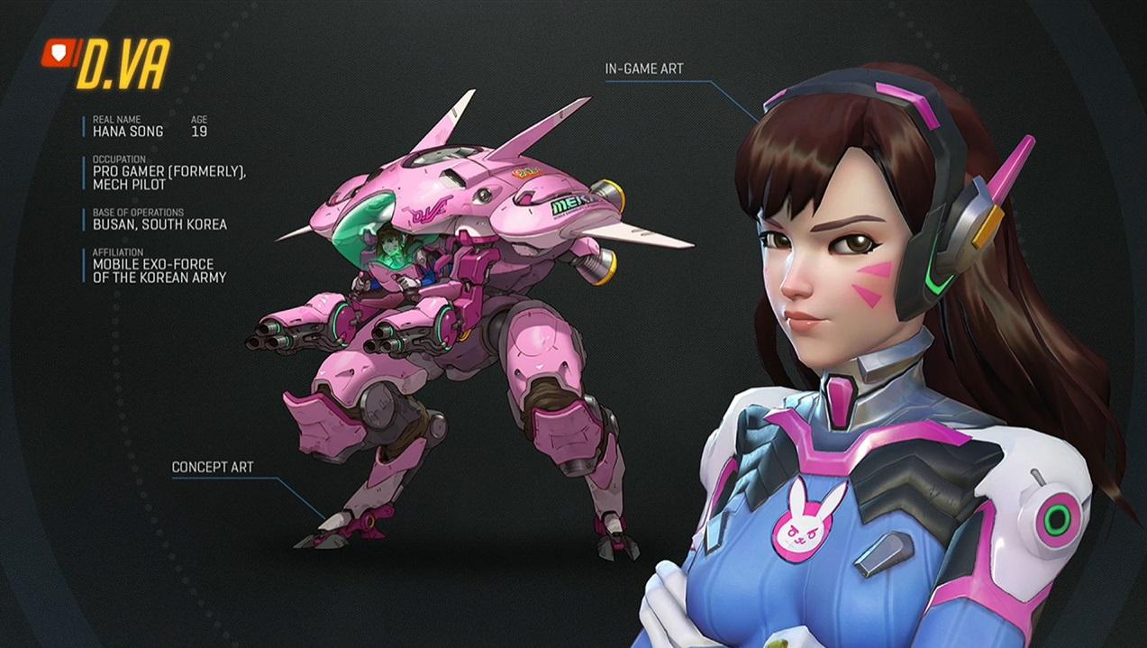 Overwatch: D.Va ist die Multikill-Spezialistin