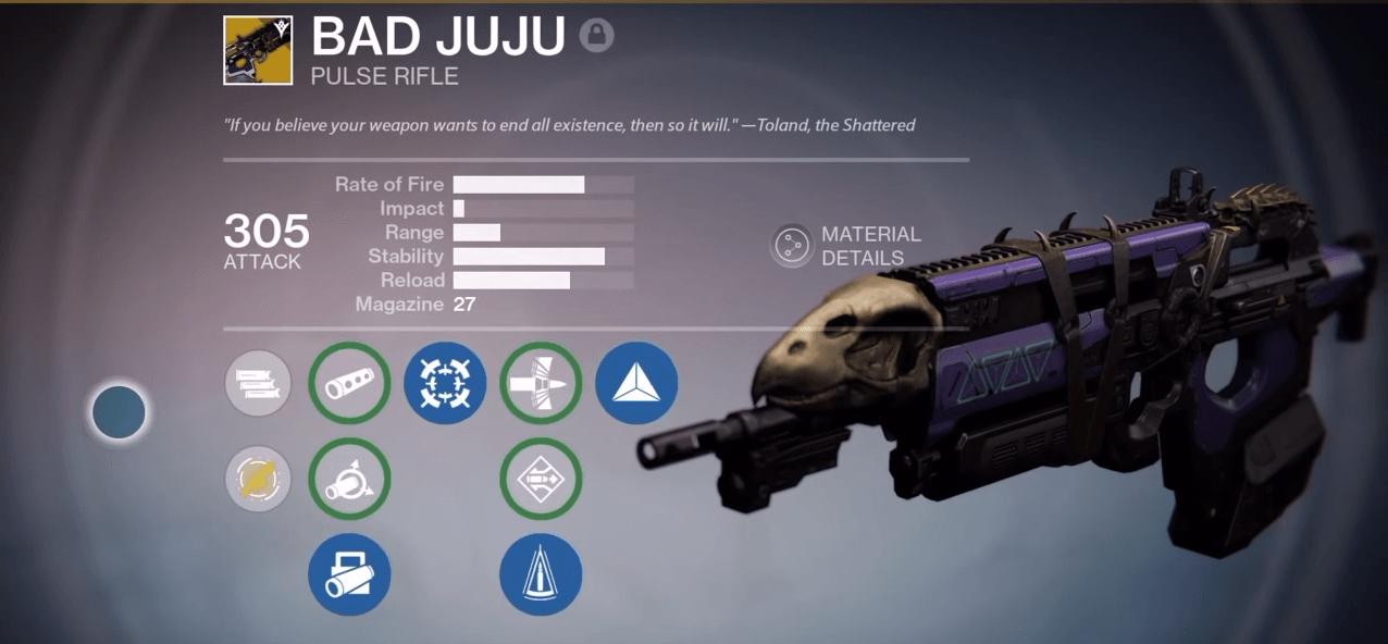 Destiny: Schlechtes Karma – Wie gut ist das Impulsgewehr in Jahr 2?