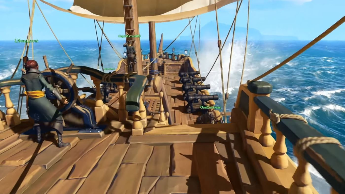 Sea of Thieves Gameplay: Darum spielt ihr in der Ego-Perspektive Pirat