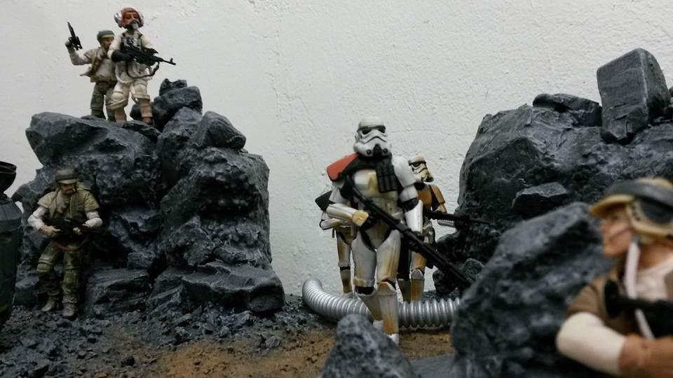 Star Wars Battlefront: Fan erstellt fantastisches Diorama von Sullust