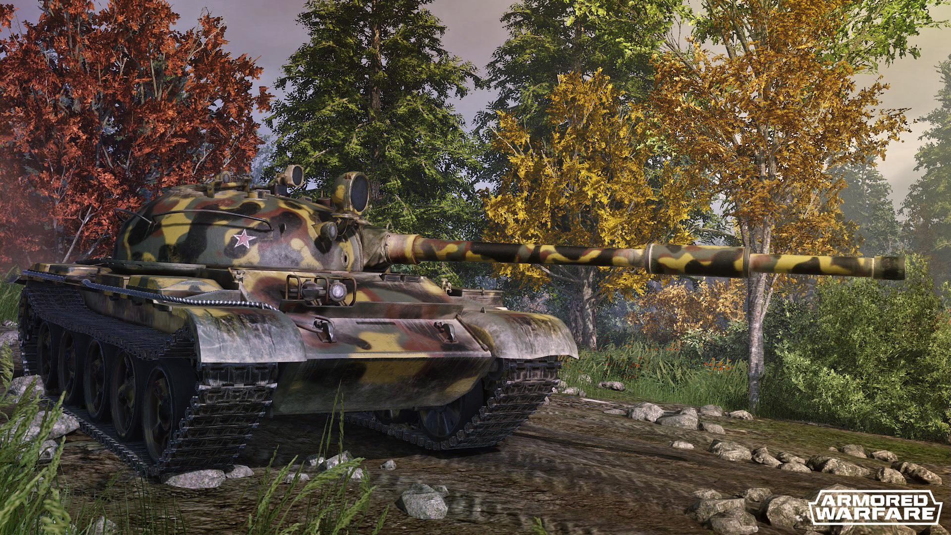 Armored Warfare verschenkt T-62 Panzer in Spezialausführung