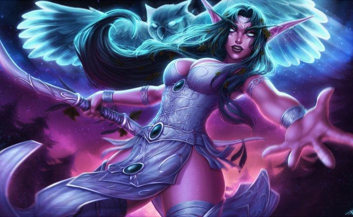 Hearthstone: Neue Heldin Tyrande in den Spieldaten entdeckt!