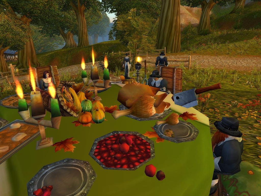 WoW: Legion – Wilder Truthahn, Gewürzbrot, Essenschlacht – Pilgerfreuden sind live