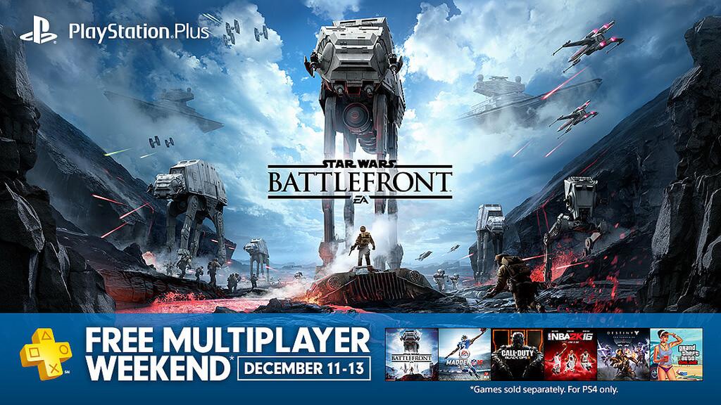 Playstation 4: Am Wochenende Multiplayer-Zugang für alle