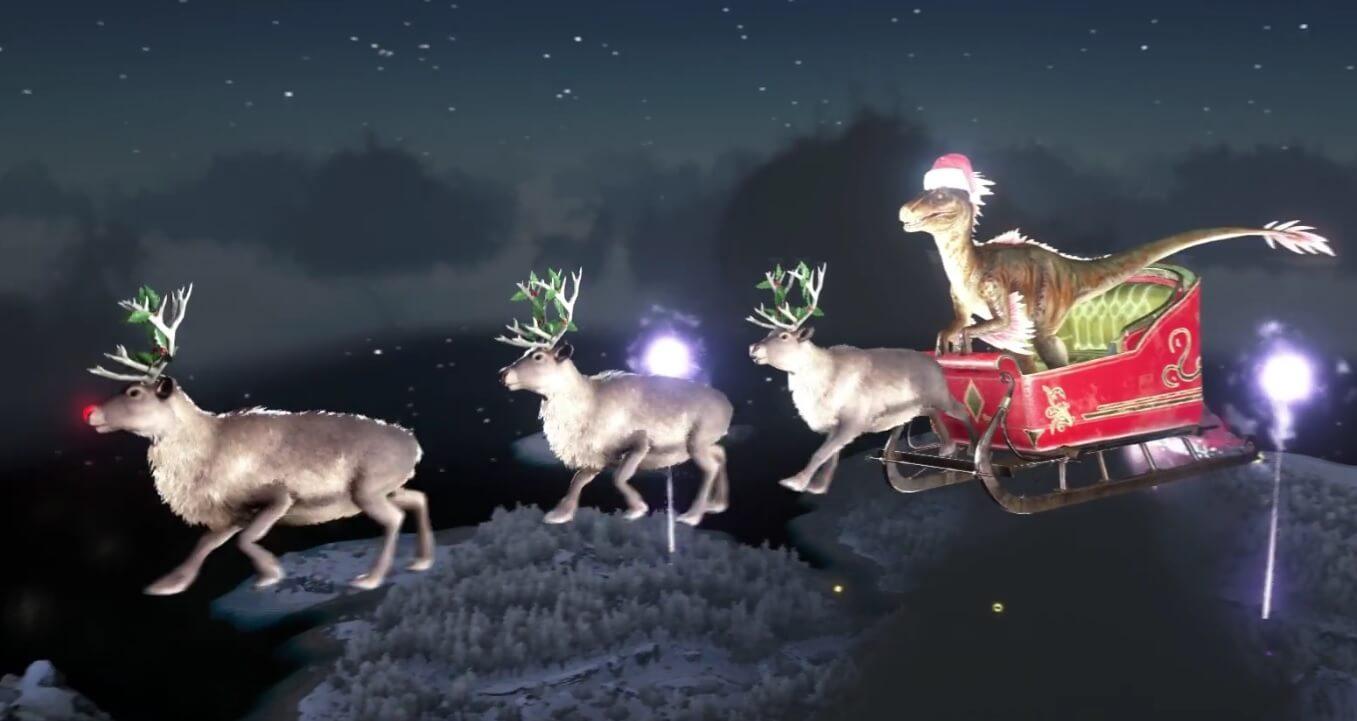 ARK: Raptor Claus bringt Geschenke!
