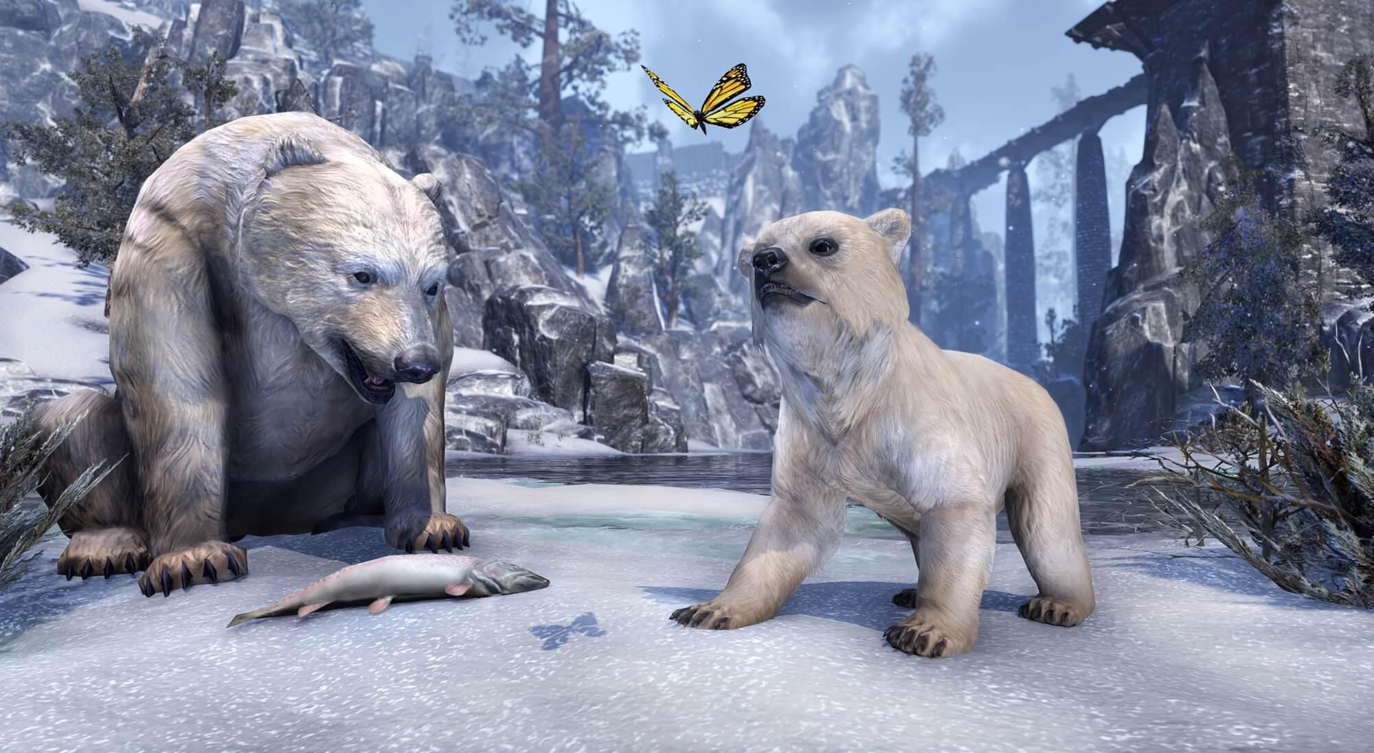 The Elder Scrolls Online: UnentBÄRlich – Kronenstore von Bären übernommen