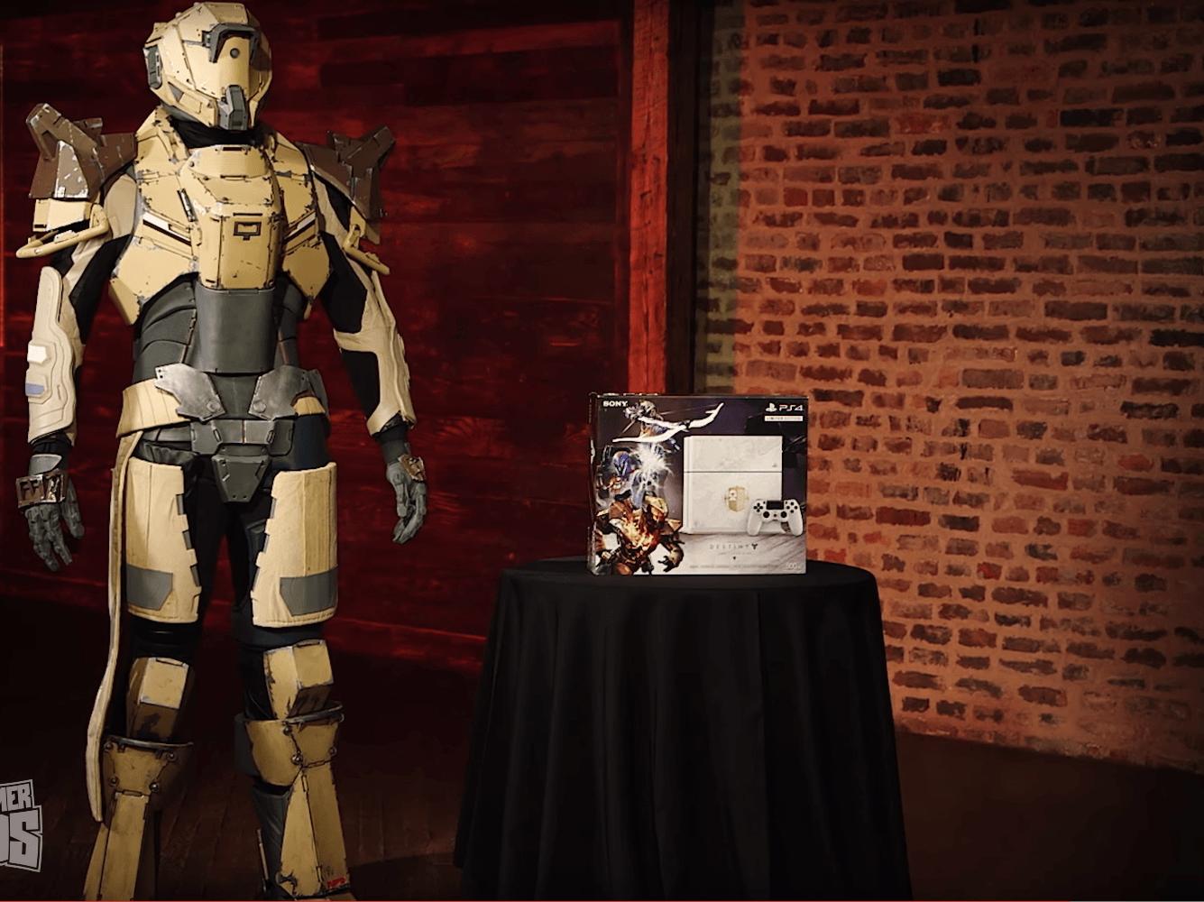 Destiny: Spieler wird zum Titan, gewinnt massive Rüstung