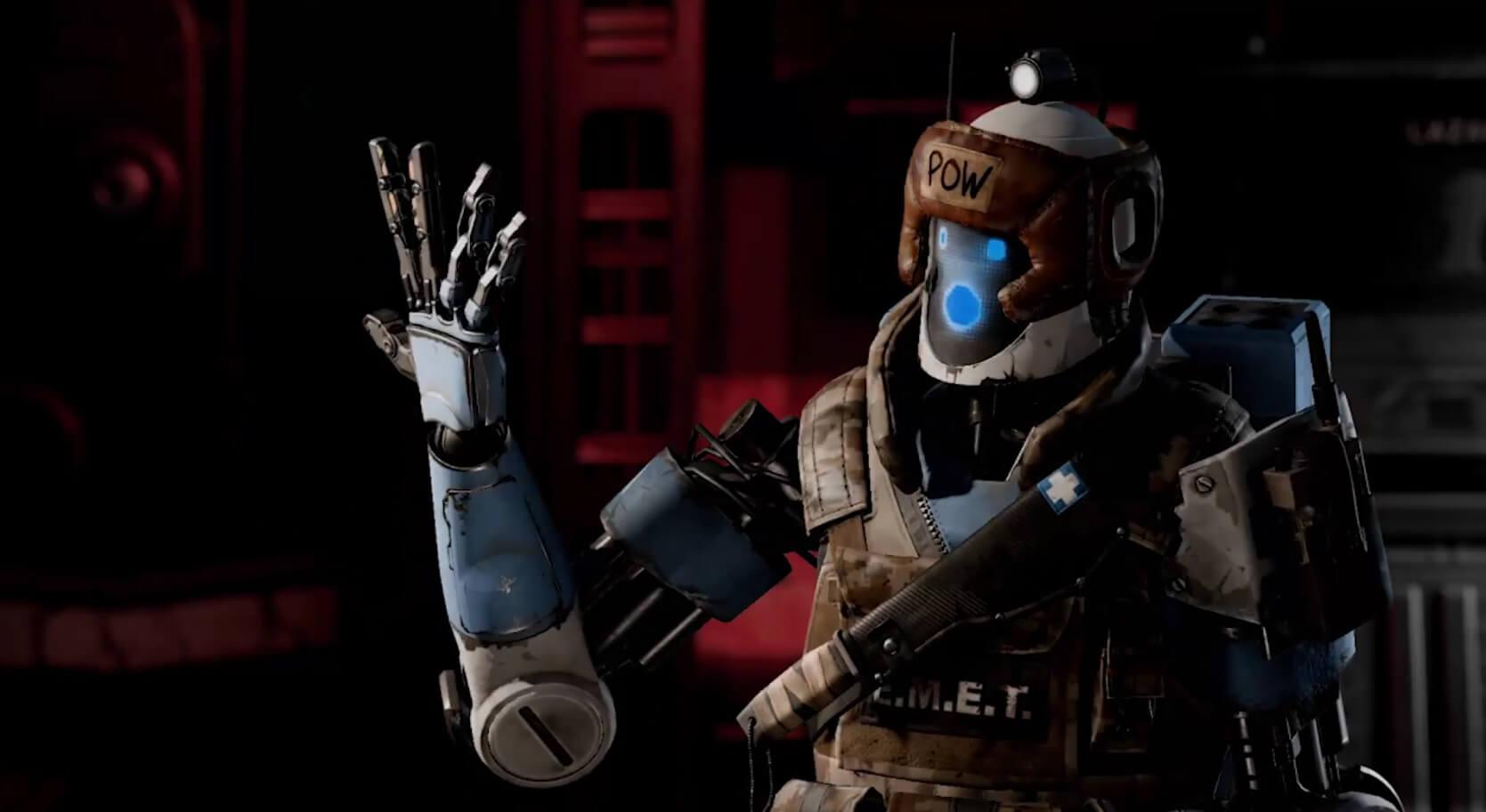 Evolve: Neuer Medic E.M.E.T. kommt, zwei Roboterherzen ticken in seiner Brust