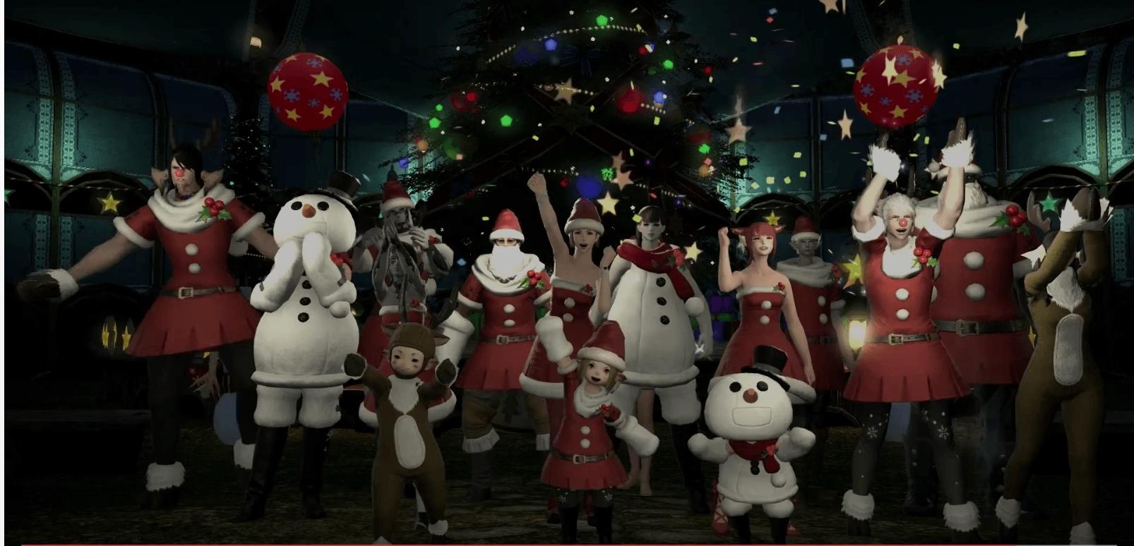 Final Fantasy XIV: 5 Millionen Spieler und ein zuckriger Weihnachts-Trailer