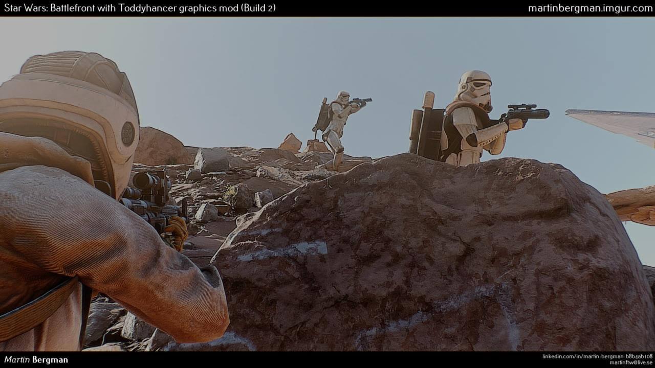 Star Wars: Battlefront in Kino-Qualität – So sieht der Wunder-Mod im Video aus