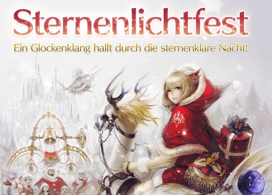 Final Fantasy XIV feiert Sternenlichtfest