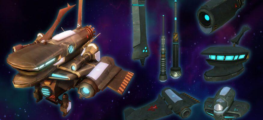 WildStar: Neues Event lässt Spieler eigene Raumschiffe basteln!