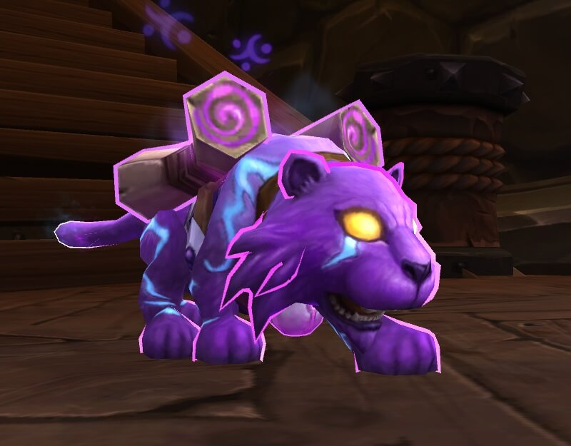 World of Warcraft: Leuchtpfötchen erfüllt Kinderwünsche