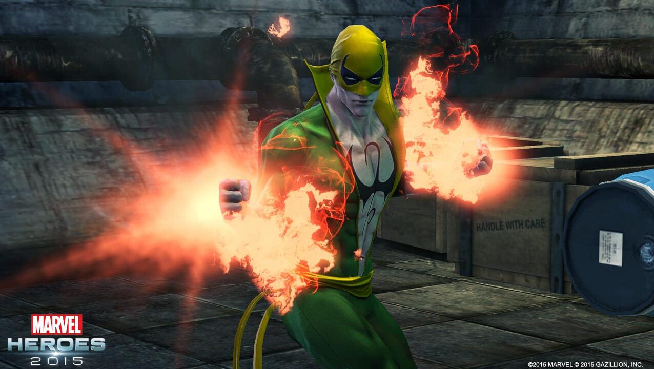 Marvel Heroes bekommt mit Iron Fist einen kommenden TV-Star, feiert Weihnachten