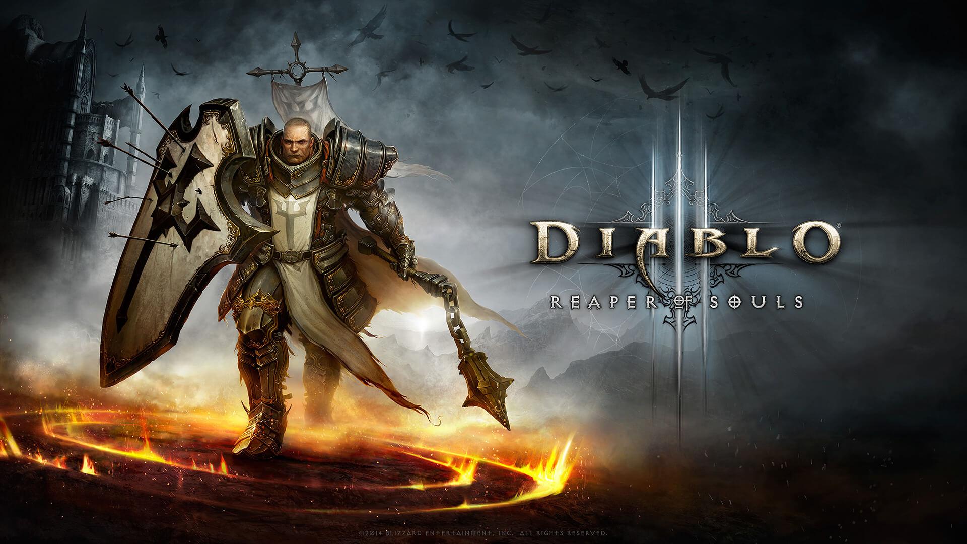 Diablo 3 Crusader Wallpaper