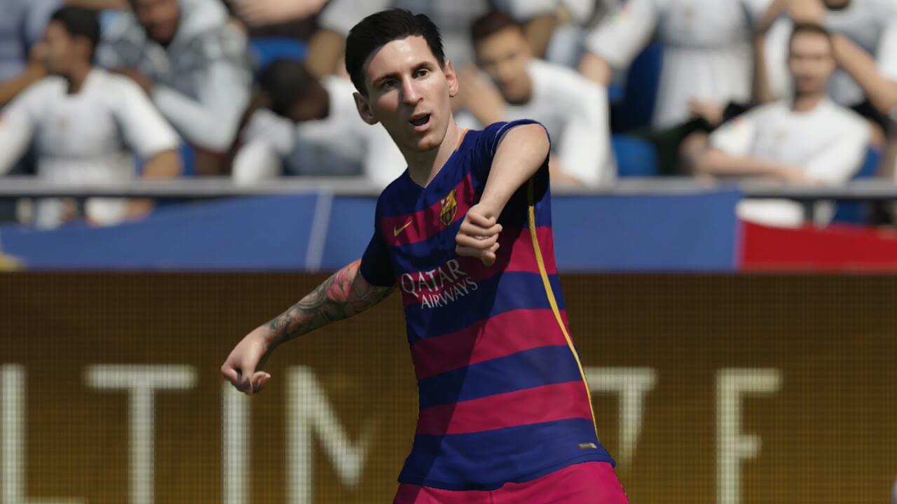 Fifa 16 Messi Team of the year