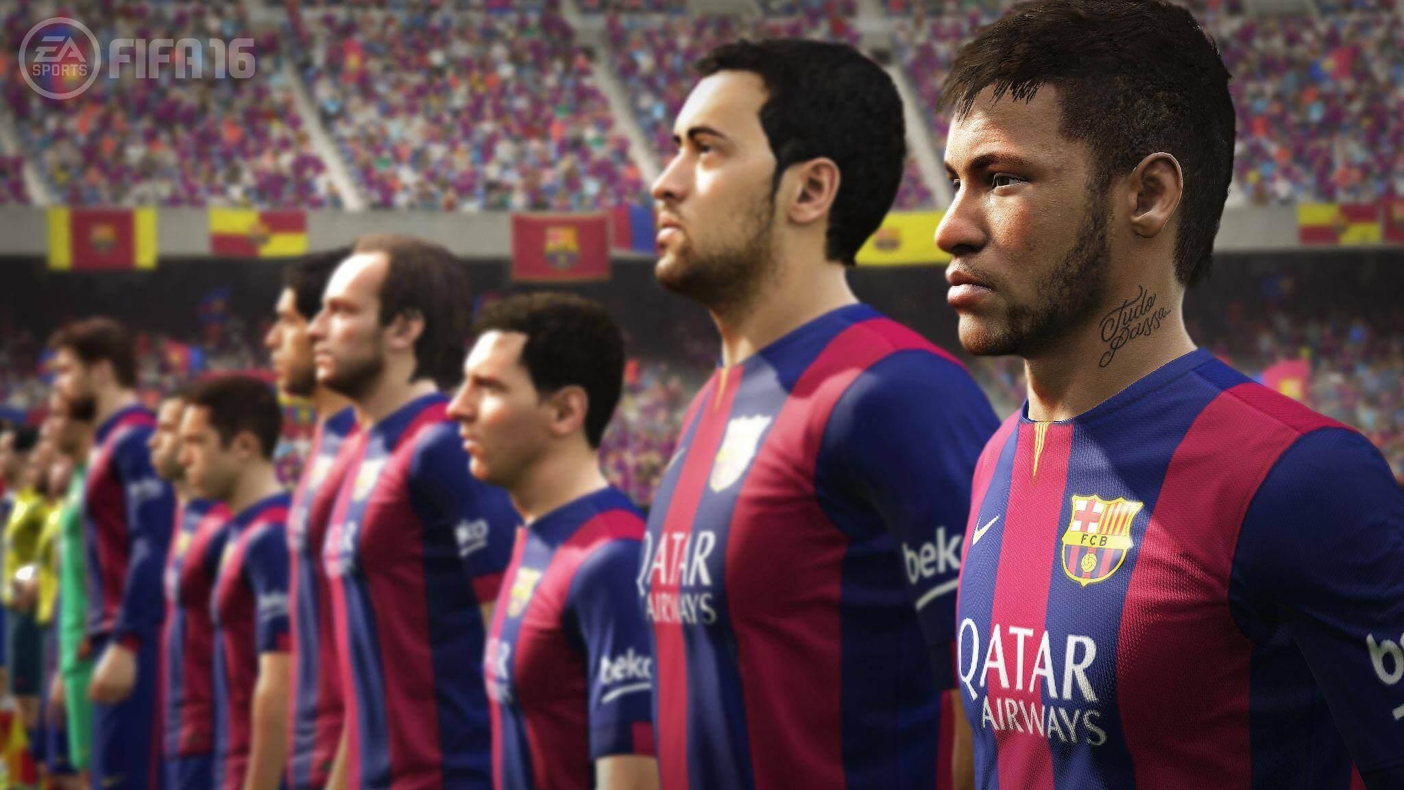 Fifa 16 Team Barcelona