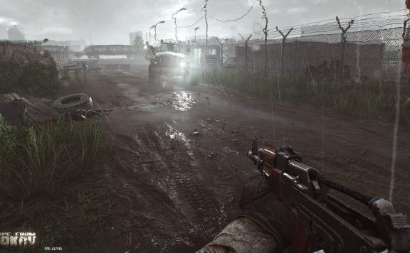 escape from tarkov rain