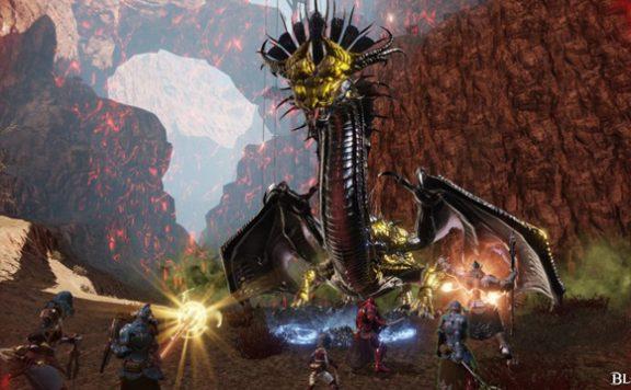 Bless Online World Boss Dragon