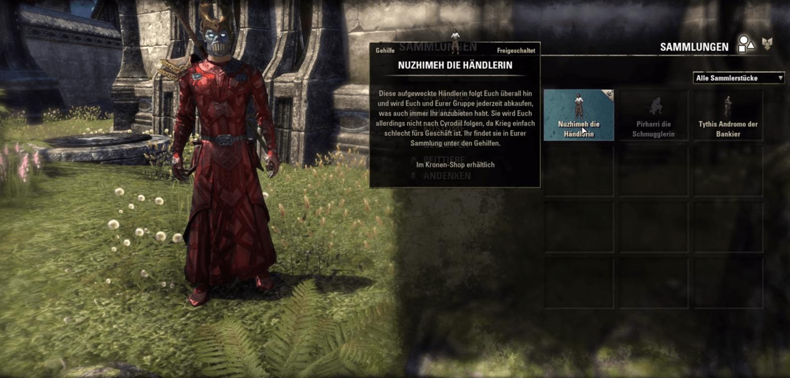 The Elder Scrolls Online: Diebesgilde – Das sind die 3 neuen Gehilfen