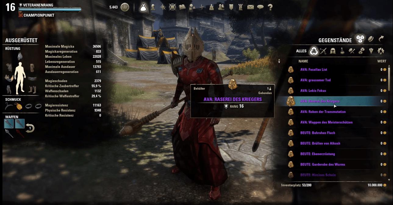 The Elder Scrolls Online: Diese neuen Item-Sets kommen mit der Diebesgilde auf VR16