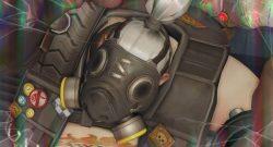 Overwatch Roadhog Closeup