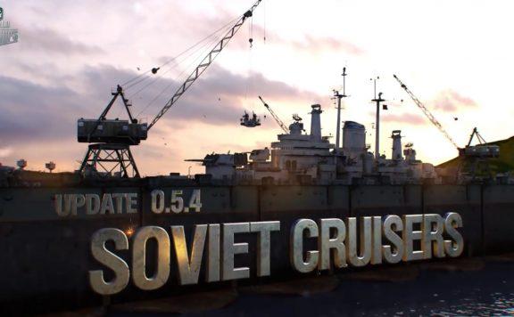 World of Warships Update 054 Soviet