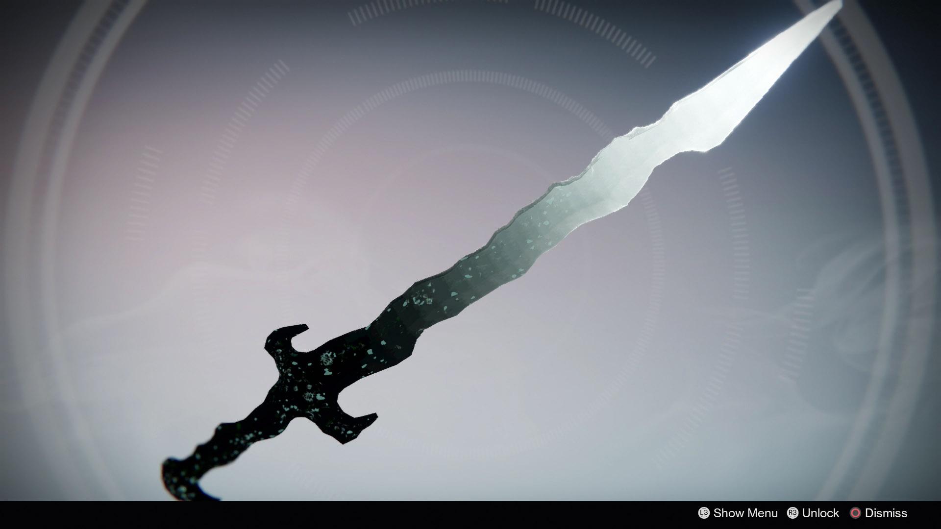 "Destiny: Grauensreißer – Schwert mit coolem ""Besessenen-Look"""