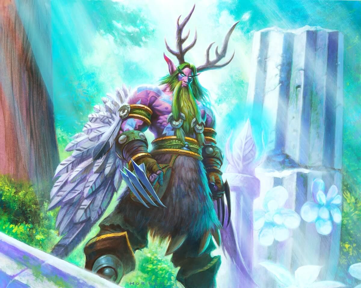 World of Warcraft: Spieler hatte Erzdruiden verärgert und konnte keine Artefaktwaffe bekommen!