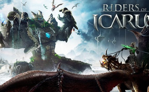 Riders of Icarus Title