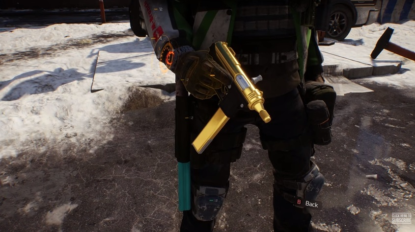 """The Division: Valkyria – Maschinenpistole mit """"Bling-Bling"""""""
