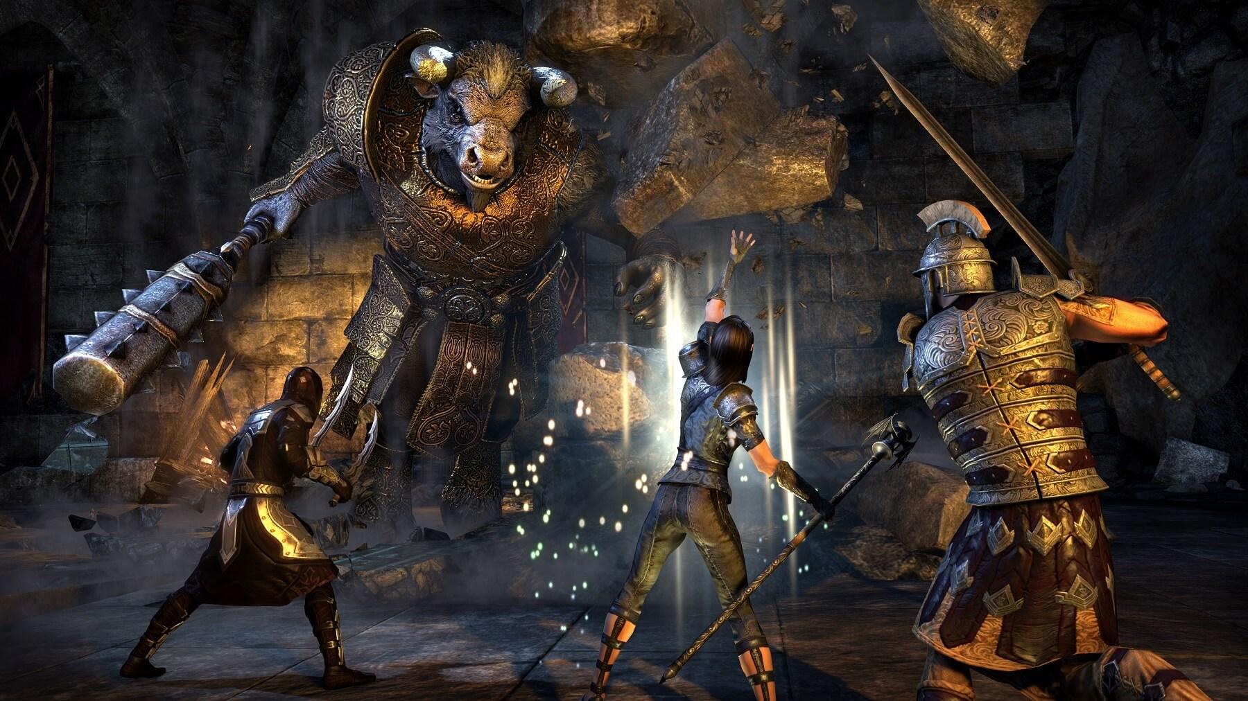 The Elder Scrolls Online: Gold Edition kommt mit fast allen DLCs