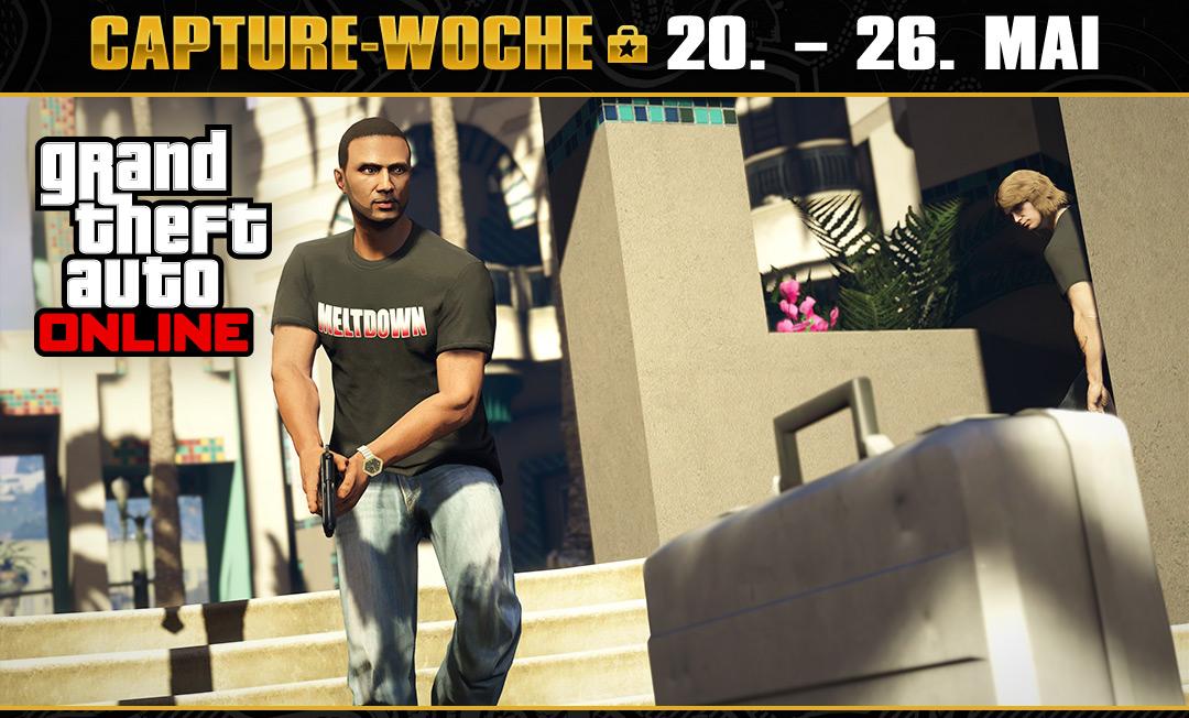GTA 5 Online: Die Capture-Woche ist gestartet – Sichert euch doppelt Cash und RP!
