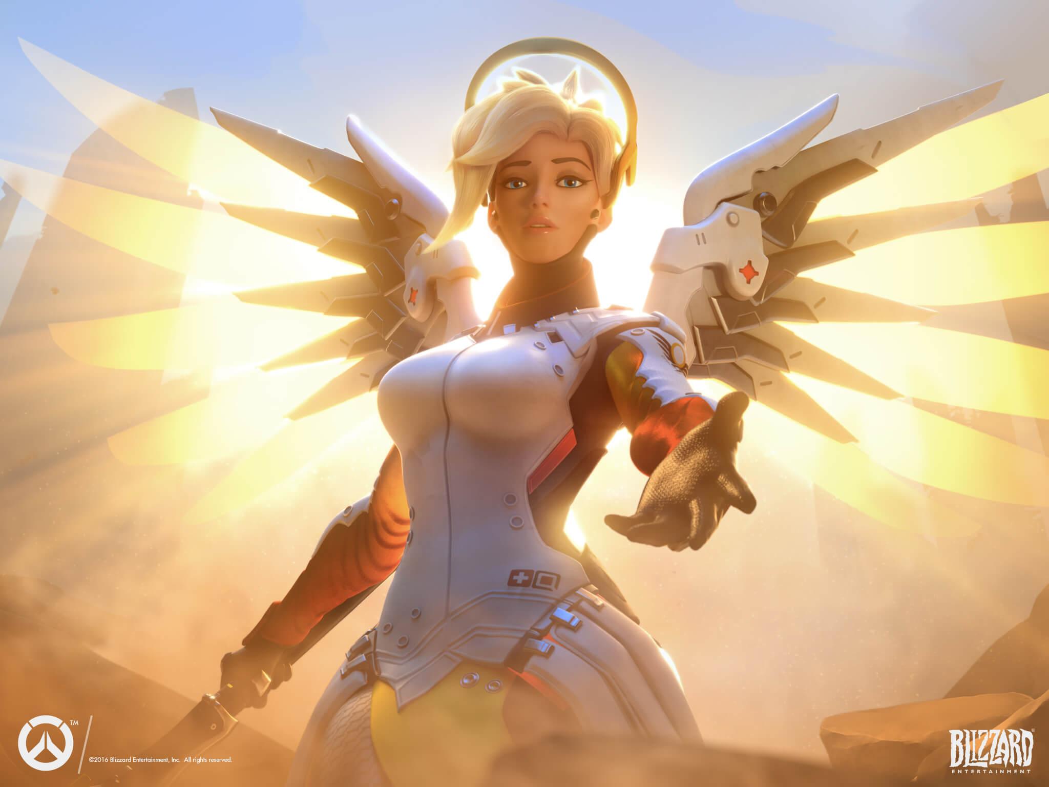 Overwatch Mercy Guide: Der heilende Engel