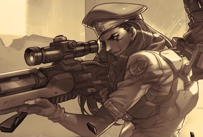 Overwatch: Neue Heldin angeteasert! Wird es die Sniper-Heilerin Sombra?