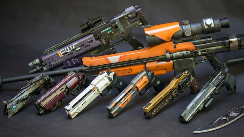 Die 5 mächtigsten Waffen in der Geschichte von Destiny & Destiny 2