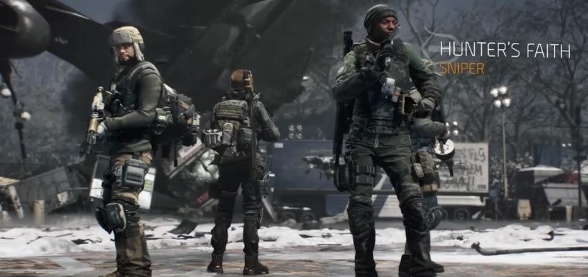 The Division:  Die neuen Gear Sets des Mai-Updates 1.2.